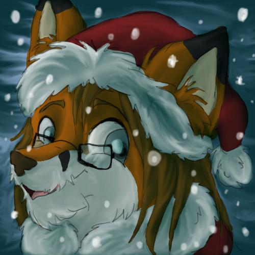 Santa Fox by sporkyd00m