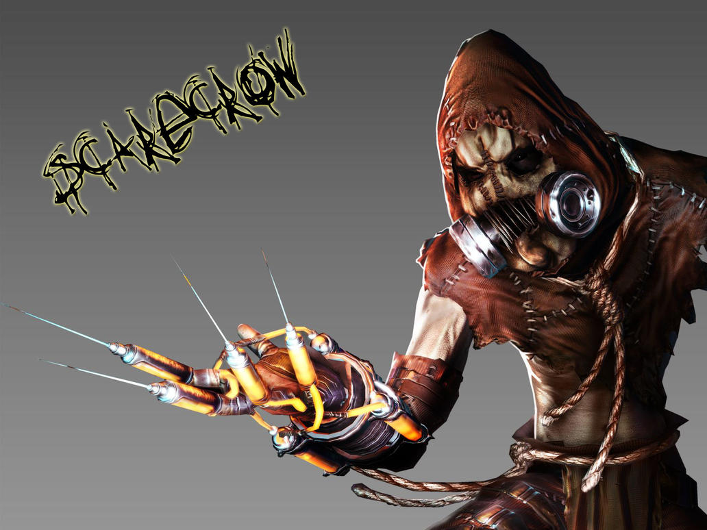 Scarecrow - Batman Arkham A. by haneboe