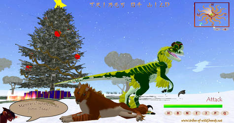 Merry christmas by the Tribes of Wild by T-i-g-g