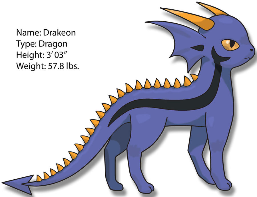 Dragon eeveelution by SuperiorDragonFan