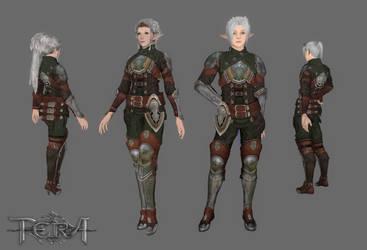 TES4 Oblivion Mod - Bless Online Armour BETA