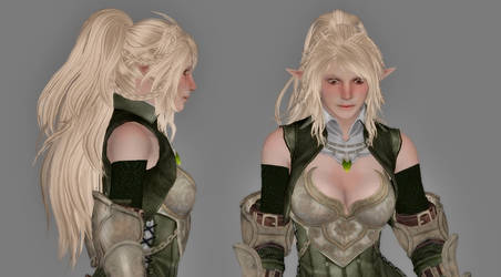 Tes4 Oblivion - WO3 Athena wig test