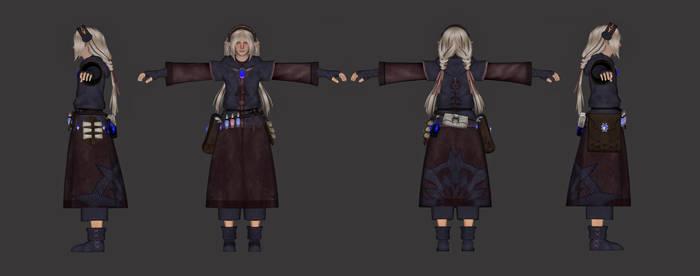 TES4 Oblivion Mod Force Master Robe