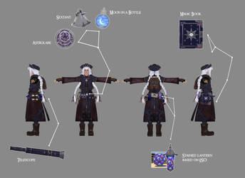 TES4 Oblivion mod WIP: Astrologian