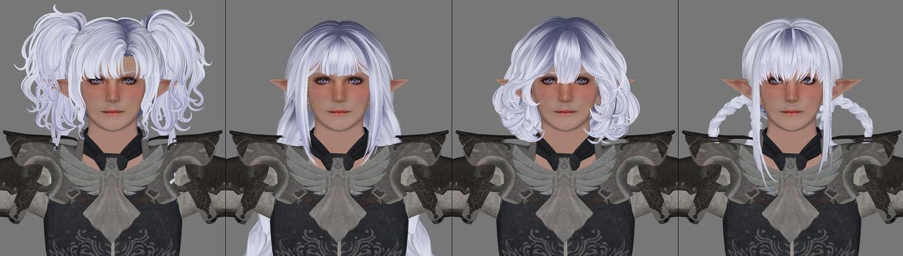 Testing testing - Shining Nikki hair in Oblivion