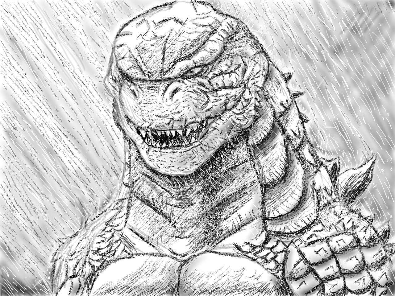 Godzilla kotm sketch by gojira kun92 on deviantart