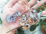 Acrylic charms by Kaliner123