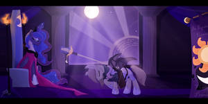 The Knighting by LunarCakez
