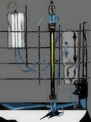 Fluid flow through packed columns