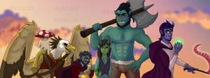 Kree And Company by Shaslan