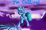 Chilling pony. She has chilling magic.