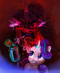 Starlight Glimmer controls her anger with bottle
