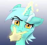 Lyra Thinking Emoji