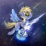 Derpy pony Collecting Stars