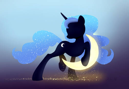 Princess Luna and Crescent Moon wallpaper