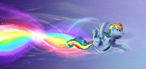 Rainbow Dash rainbow roll