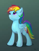 Rainbow Dash by xbi