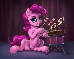 Pinkie Pie Ba Dum Tss by xbi