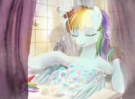 Rainbow Bath by xbi