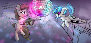 Octavia And Vinyl First Date