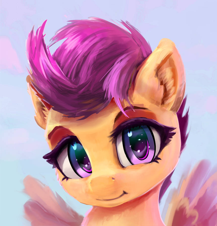 Cute Scootaloo Face By Xbi On Deviantart And apple bloom diaper treeko? cute scootaloo face by xbi on deviantart