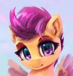 cute Scootaloo face