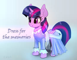 Twilight Sparkle In Dress For The Memories