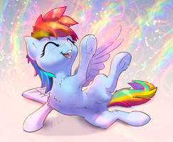 Rainbow Dash Rainbow Laugh