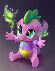 cute spike the dragon