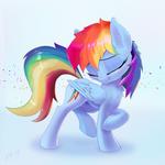 Rainbow Dash looks gorgeous