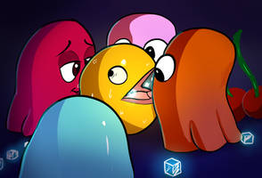 <b>Packman Is Trapped Between Ghosts</b><br><i>xbi</i>