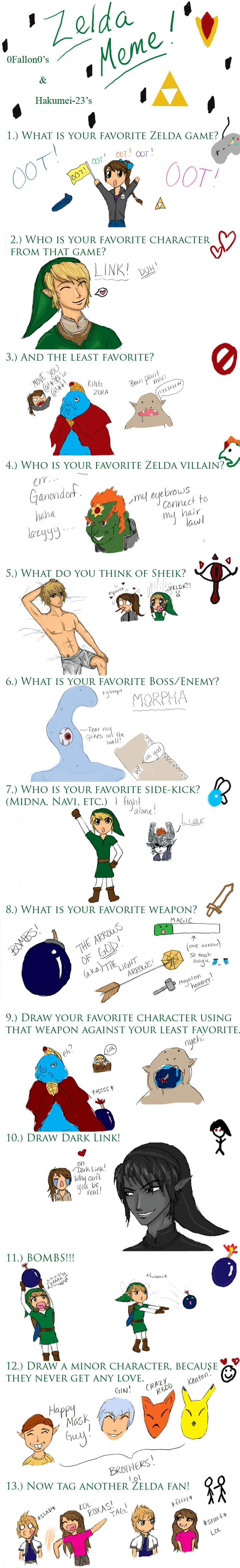 Zelda Meme Finished by 0Fallon0