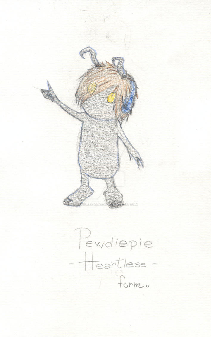 pewdiepie heartless form by Larcheex-Clicexia