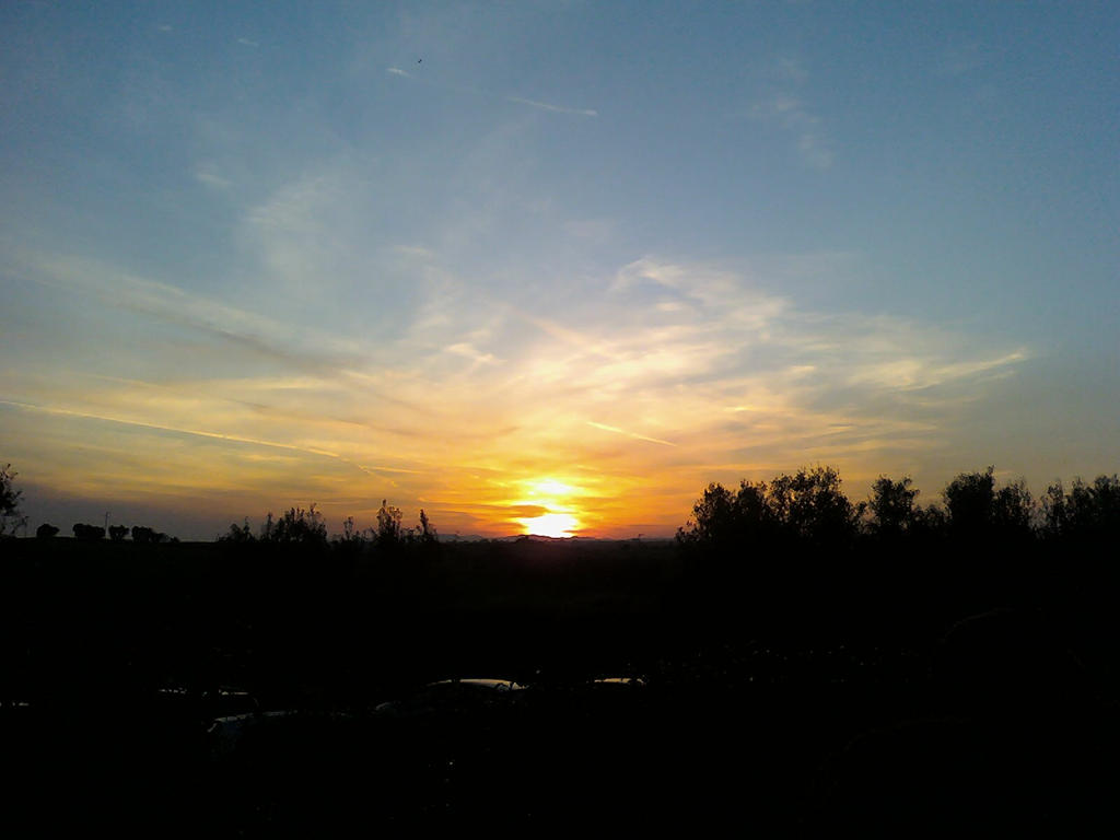 TramontoSunset countryside by Larcheex-Clicexia