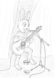 Hare from Nu pogodi singing
