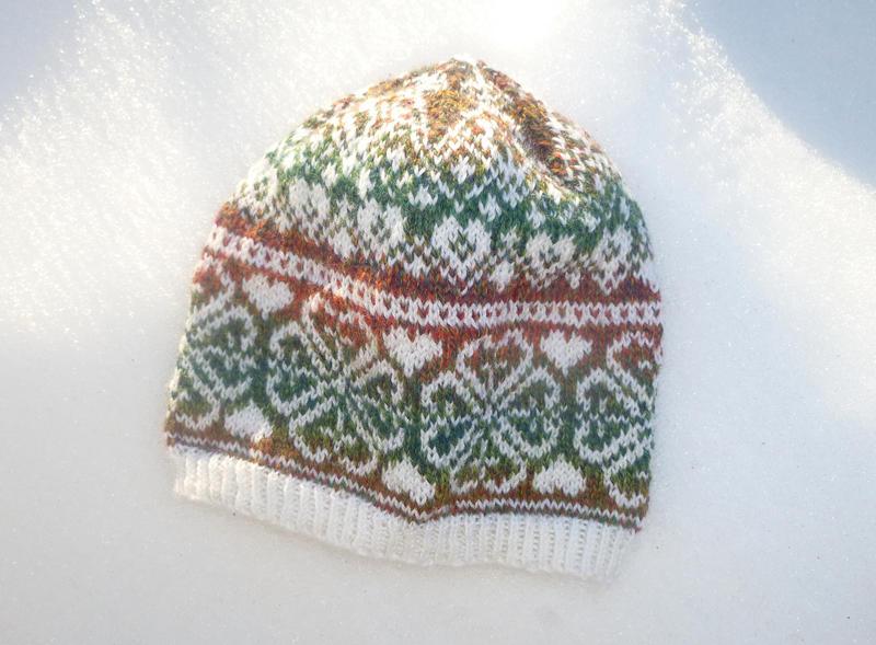 Clower fair-isle hat by KnitLizzy
