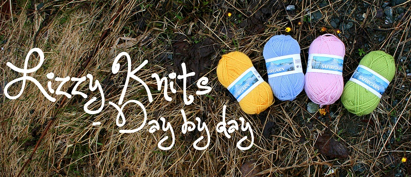 Lizzy Knits - Spring blog header by KnitLizzy