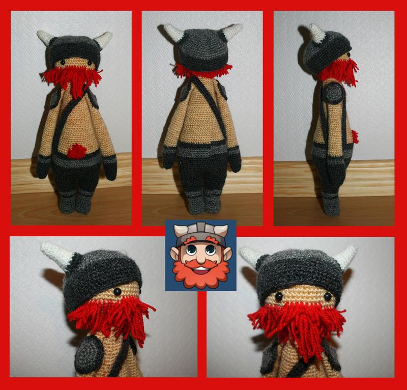 Yogscast - Simon amigurumi doll by KnitLizzy