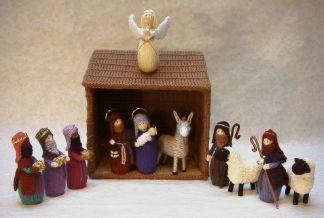 Nativity by KnitLizzy