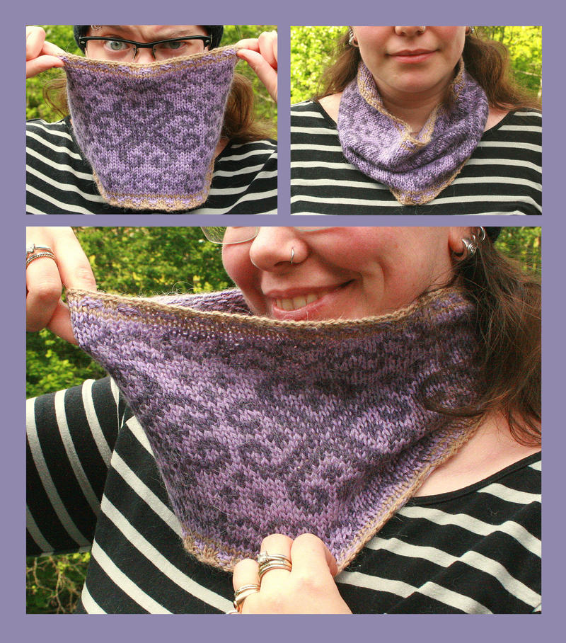 Fair-isle Cowl - Nerds-and-Corsets by KnitLizzy on DeviantArt