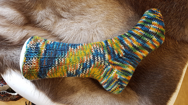 Fred and George socks by KnitLizzy