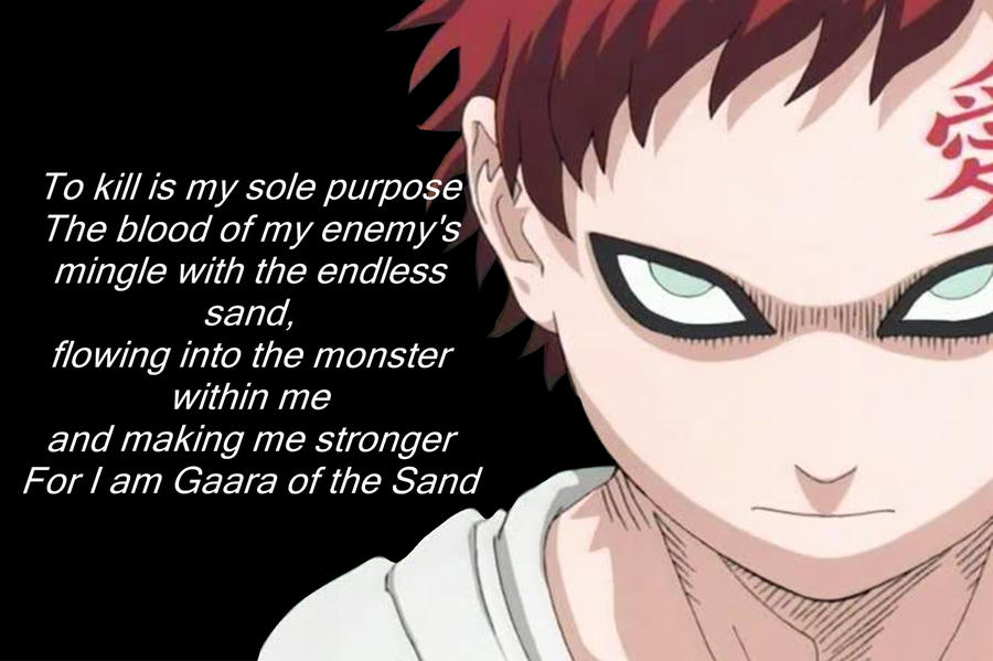 1000+ images about Gaara on Pinterest