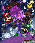Mario + Luigi: Craft World Poster