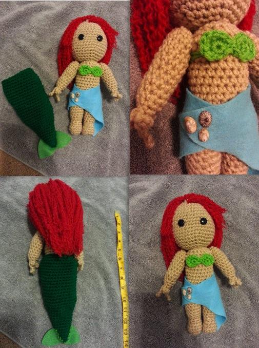 Crochet Mermaid by jelc85
