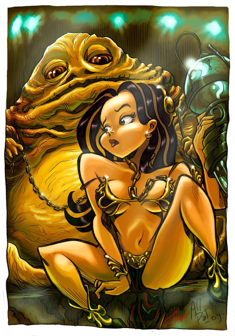 Slave Princess Color by fernandocarvalho