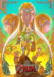 Legend of Zelda - The forgotten Mirror by fernandocarvalho