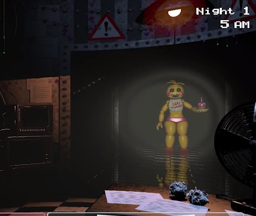 Chica 2 0 in fnaf 2 by guirou son on deviantart