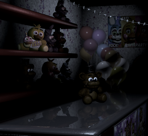 Fnaf 2 plushies in prize corner by guirou son on deviantart