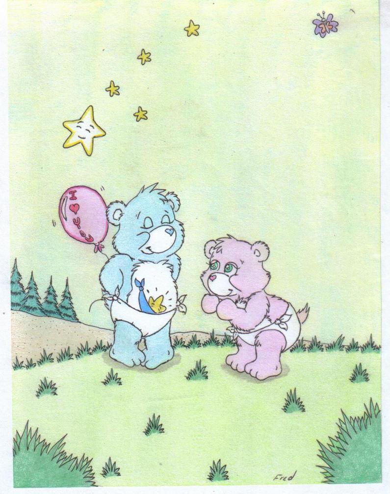 Care  Bears: Tugs and Hugs by fredvegerano