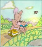 Kanga  and  little  Roo